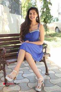 Actress Prasanna Stills in Blue Short Dress at Inkenti Nuvve Cheppu Movie Platinum Disc Function  0172.JPG