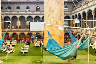 Lawn landscape - National Building Museum