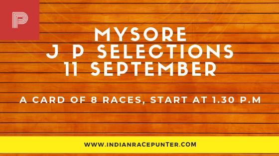 Mysore Jackpot Selections 11 September