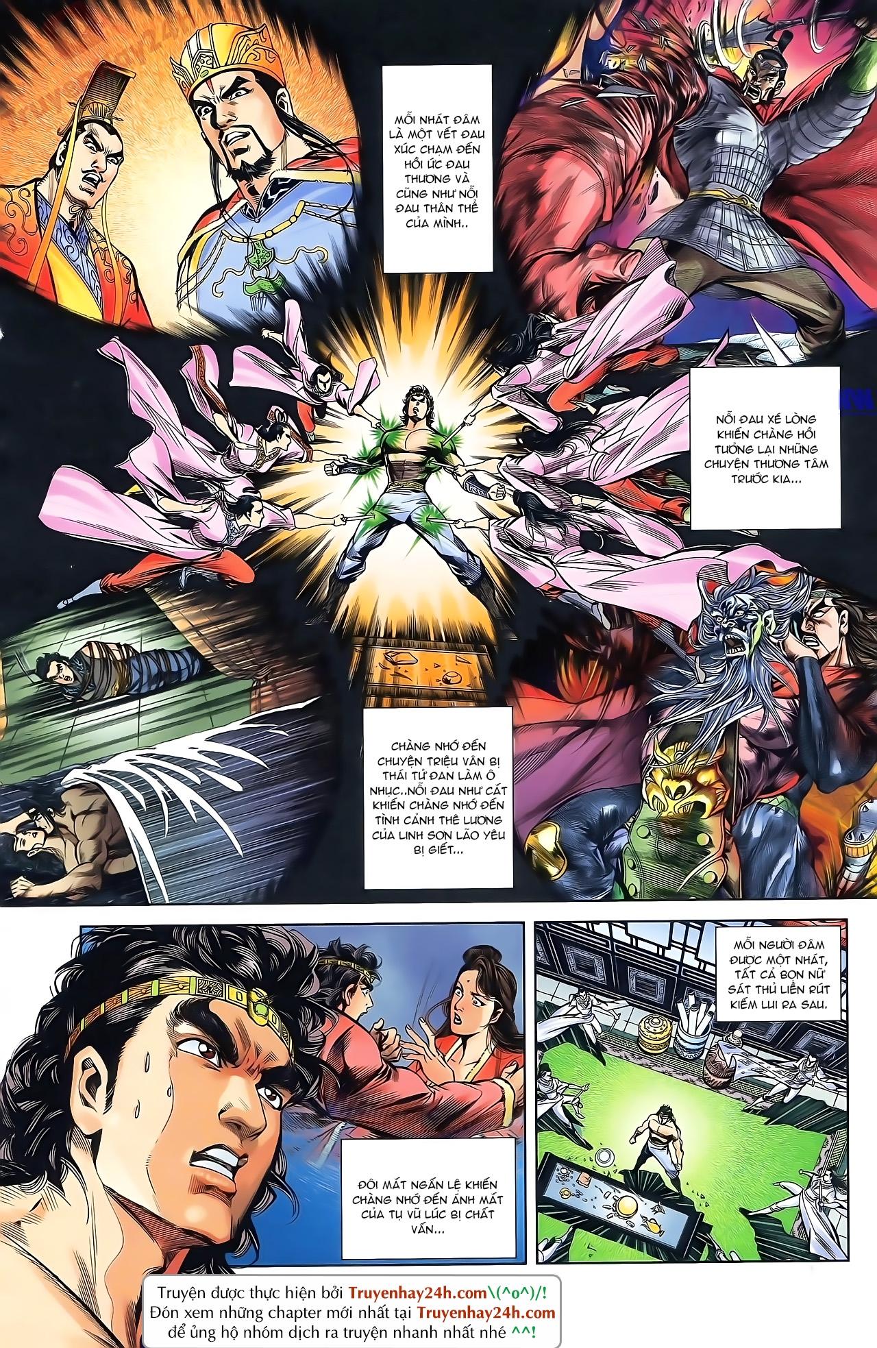 Tần Vương Doanh Chính chapter 43 trang 11