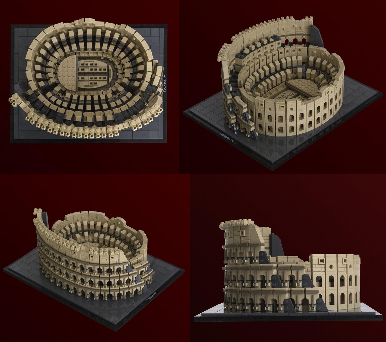 ローマのコロッセオ:Colosseum(Architecture Style)