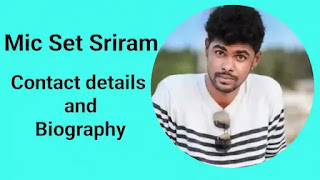 Micset Sriram Phone Number Contact Number And House Address