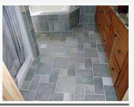best type of flooring for a bathroom