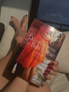 """lekturowa duchota, """"Do zobaczenia w Barcelonie"""" Anna B. Kann, fot. paratexterka ©"""