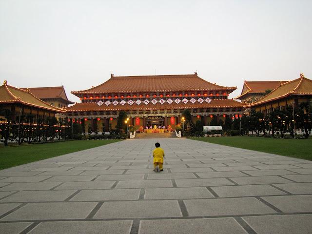 main temple hall fo guang shan kaohsiung taiwan