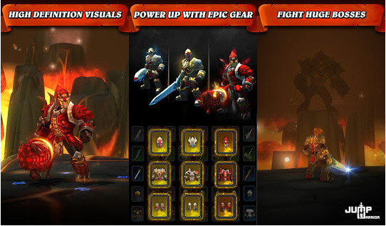 Tap warriors Tap Tap Jump MOD v1.3.1 APK Unlimited Terbaru