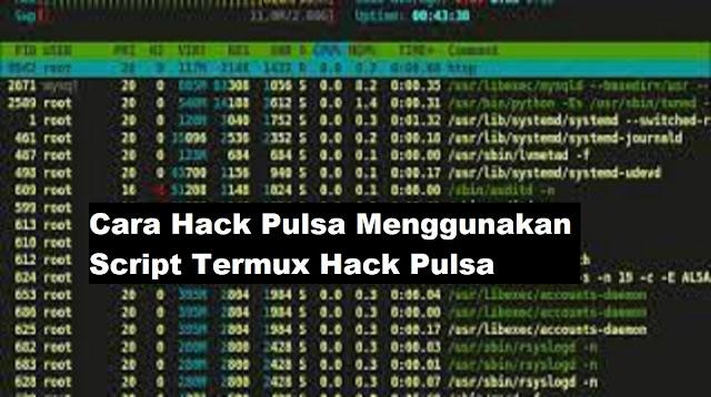 Script Termux Hack Pulsa