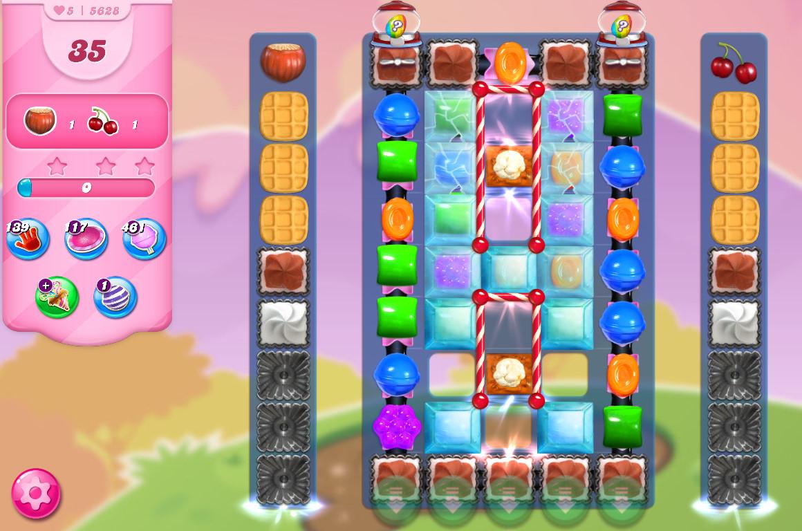 Candy Crush Saga level 5628