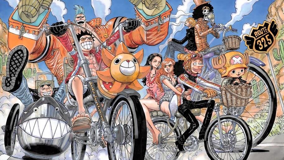 One Piece, Straw Hat Pirates, 4K, #6.153