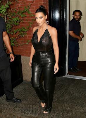 Massively endowed his of Kim Kardashian