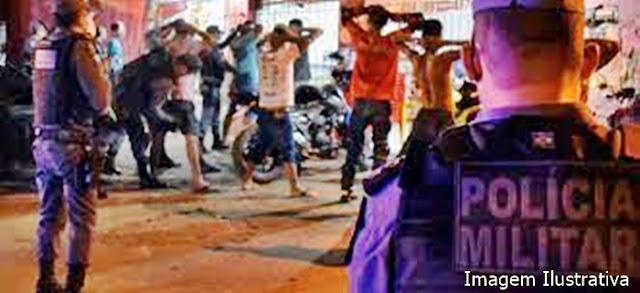 Ivaiporã: PM e fiscalização Covid-19 acaba com festinha