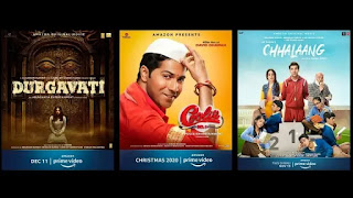 coolie no1 durgavati and chhalaang among 9 films to premiere on amazon prime video