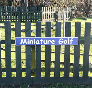 Miniature Golf at Suffolk Leisure Park in Ipswich by Sophia Moles, February 2019