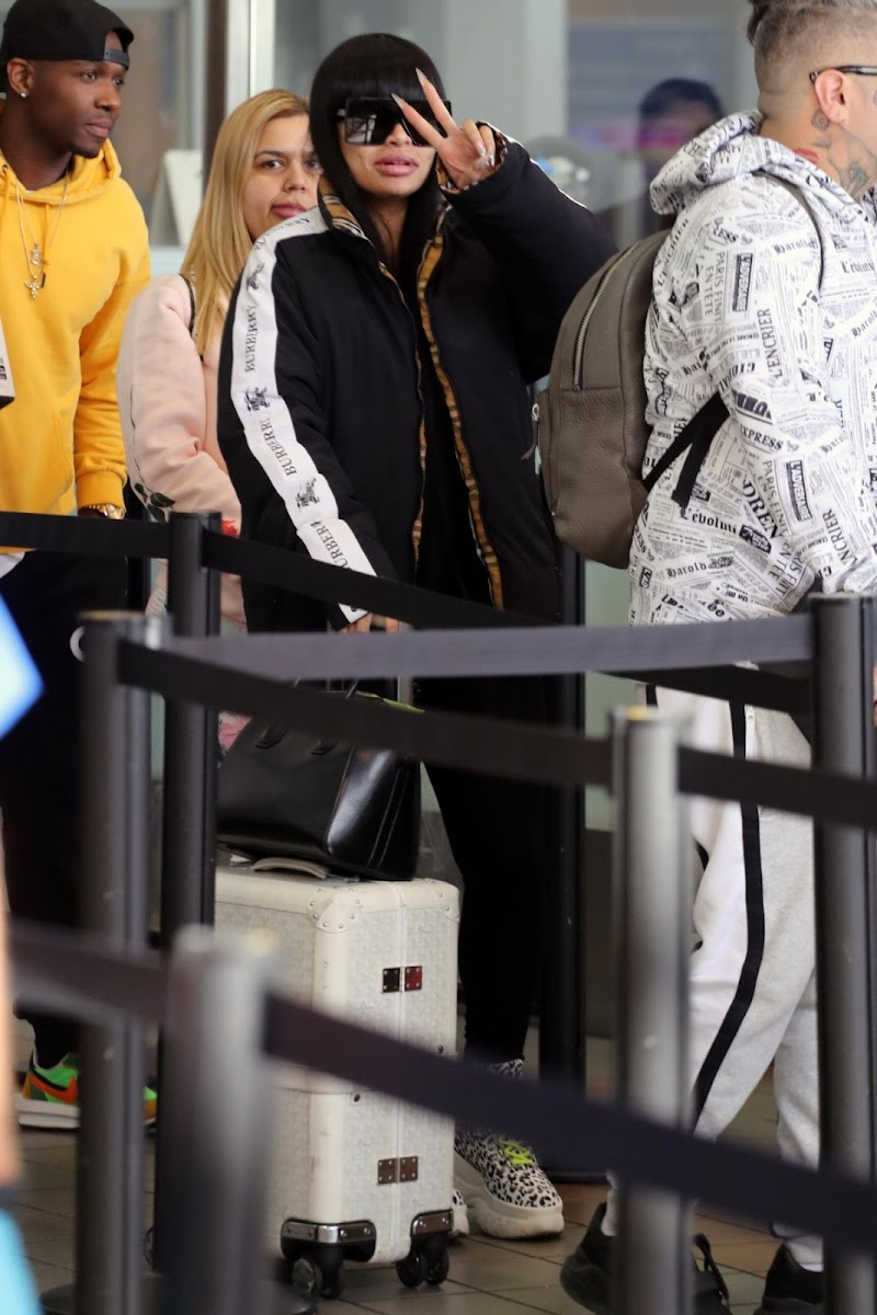 Blac Chyna at LAX Airport in Los Angeles 5 Feb-2020