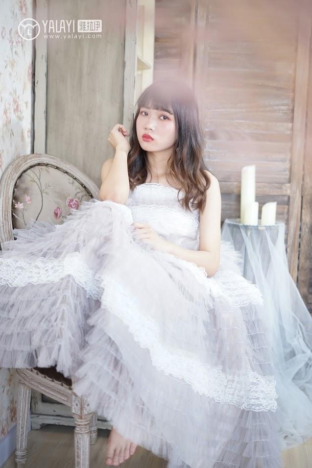 YALAYI雅拉伊  2018.06.01 NO.003 小公主的薄纱裙 公主小兔子