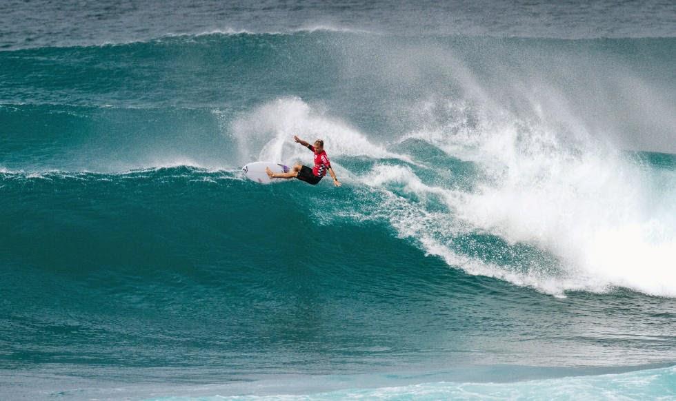 55 Vans World Cup of Sufing 2014 Josh Kerr Foto ASP
