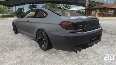 Mod , Carro, BMW M6 Coupe para GTA San Andreas, GTA SA