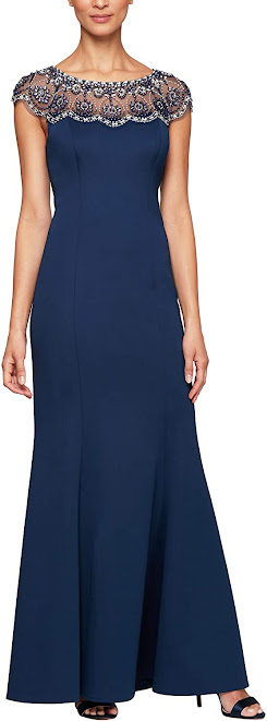 Great Navy Blue Mother of The Bride Dresses