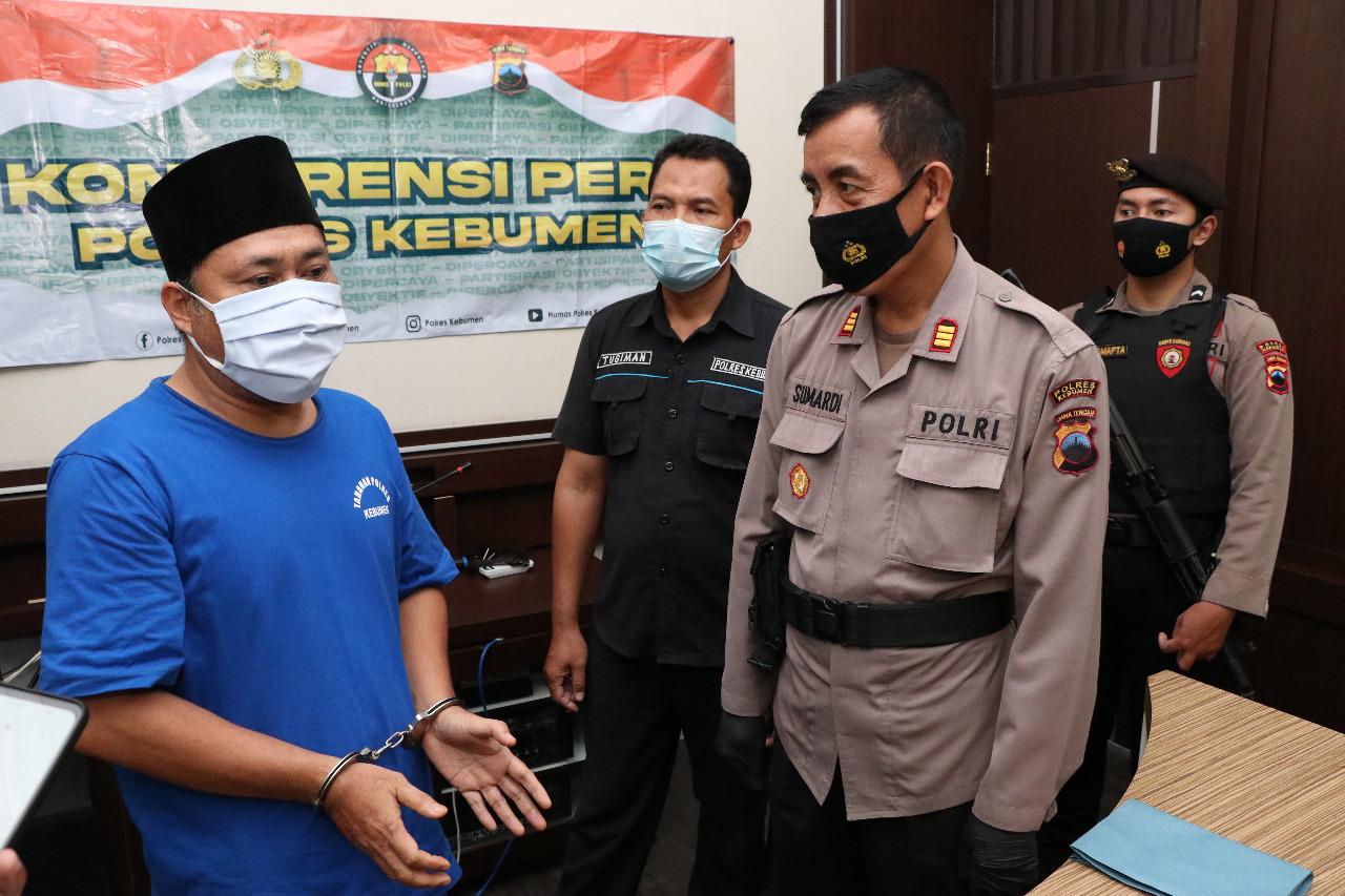 Aniaya Mantan Istri, Mantan Kades Ayamputih Ditangkap Polisi
