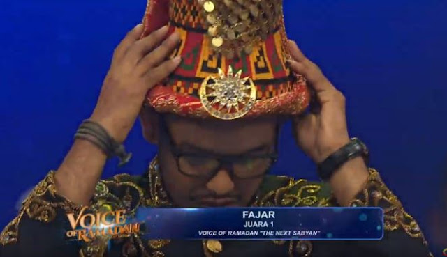 Jihar News, Fajar, Wakil Aceh Juara 1 VOR The Next Sabyan 2019
