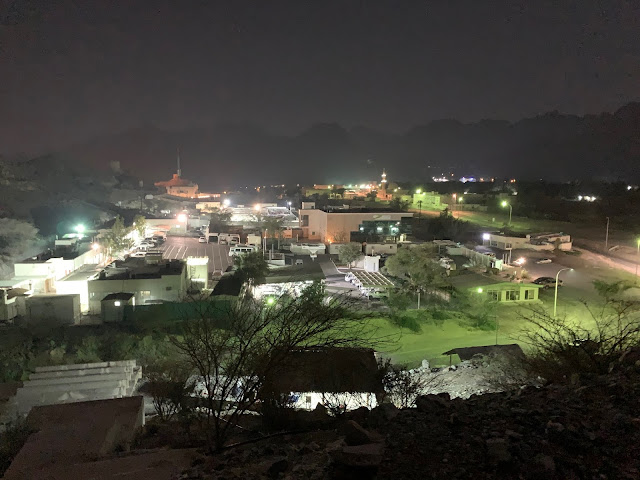 View of Hatta at Night