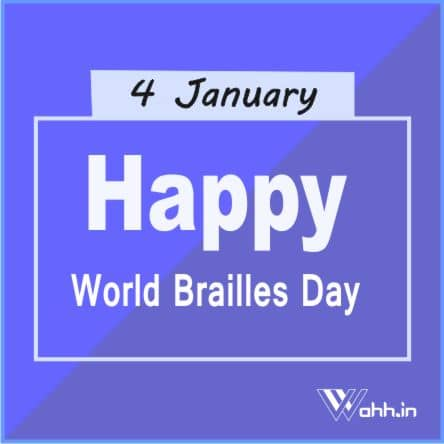 World Brailles Day Sayings