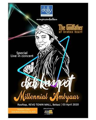 Konser Didi Kempot Millenial Ambyaar Bekasi
