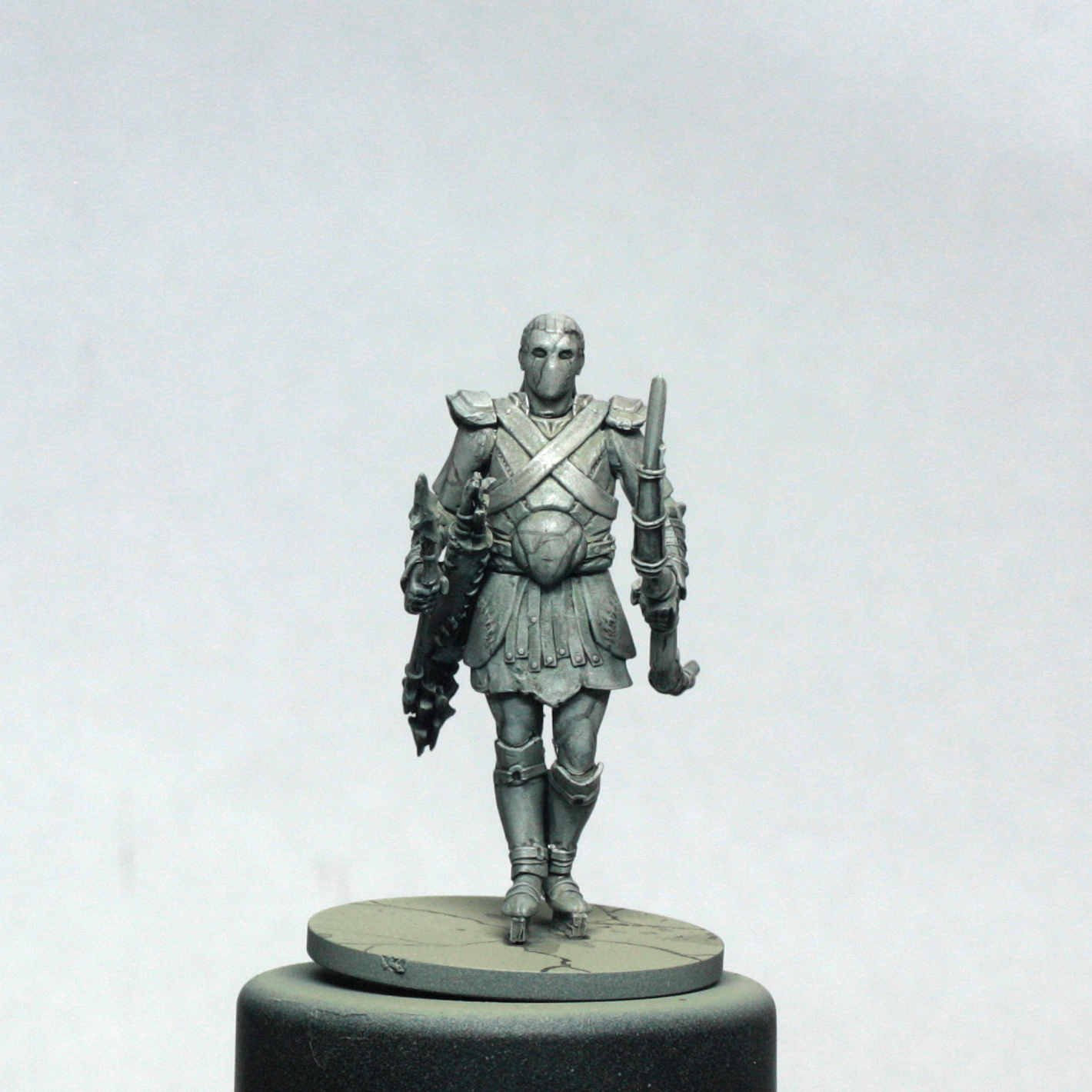 Painting miniatures color master primer - Taking Some Black Paint And Mixing It With My Wash I Quickly But Carefully Painted On Some Cracks Using The Tip For A Good Brush With A Fine Point