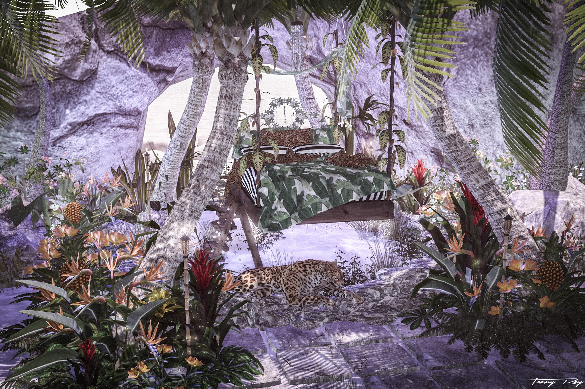 Swank Event – Tropical Island…