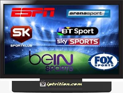 IPTV Sports m3u channels GRATUIT