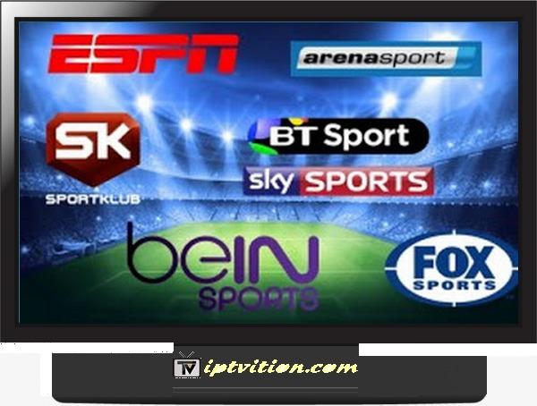 IPTV Sports m3u channels GRATUIT 20-10-2021