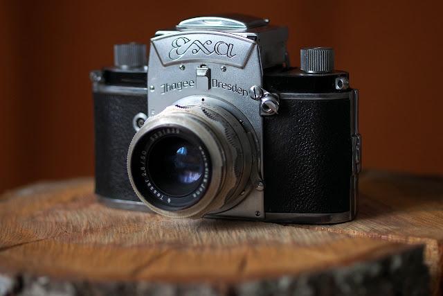 Exa + Carl Zeiss Jena Tessar 50mm F/2.8 - Idealny klasyk w kolekcji