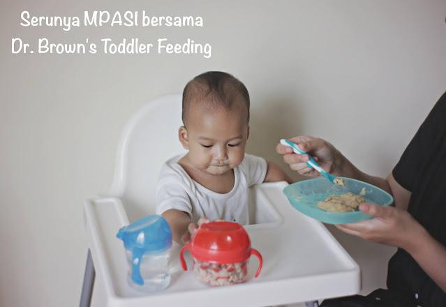 rekomendasi perlengkapan MPASI dari dr. brown's