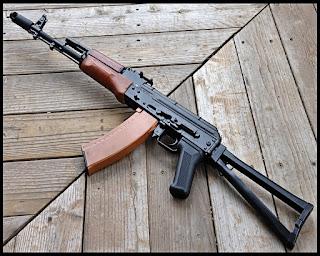 Kalashnikov AK 74 - Senapan Serbu