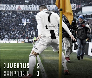 Juventus vs Sampdoria 2-1 Highlights Liga Italia