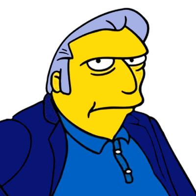 Los Simpson Personaje XXXXXX