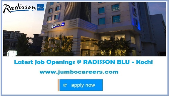 kochi hotel jobs, latest star hotel jobs in ernakulam kochi