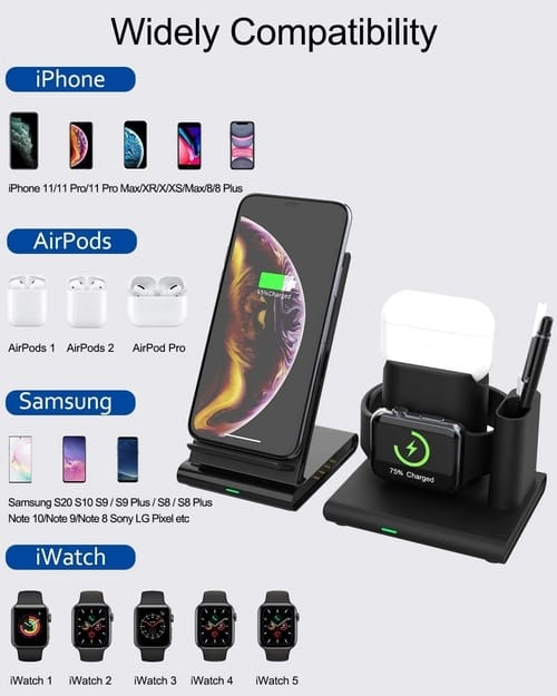 MilanSo Wireless Charger for iPhones