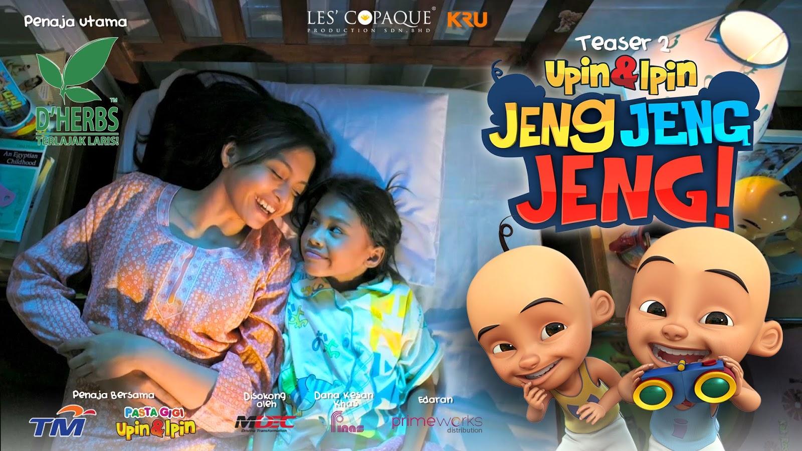 Tonton Upin dan Ipin Jeng Jeng Jeng Full Movie