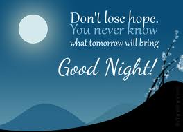 good night sms in english for love