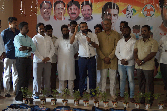 Youth Congress spread awareness on environment conservation among school children: distribute saplings