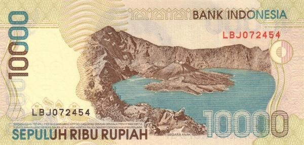 10 ribu rupiah 1998 belakang