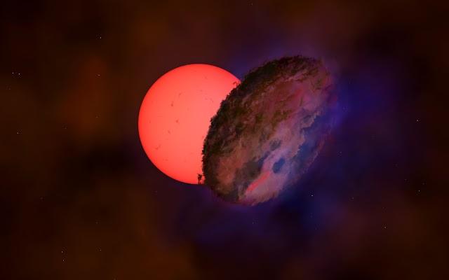 Ανακαλύφθηκε γιγάντιο άστρο – Απέχει 25.000 έτη φωτός από τη Γη και «αναβοσβήνει» (pic)