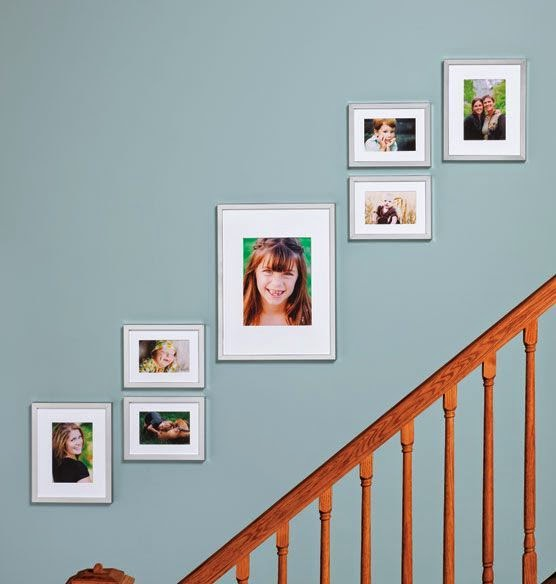 Staircase Decorating Ideas Top Of Stairs: 50 Creative Staircase Wall Decorating Ideas, Art Frames