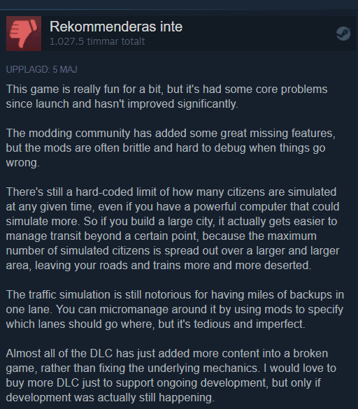 Blog Habrador Com Why Did You Give The Game A Bad Review After Playing For So Many Hours