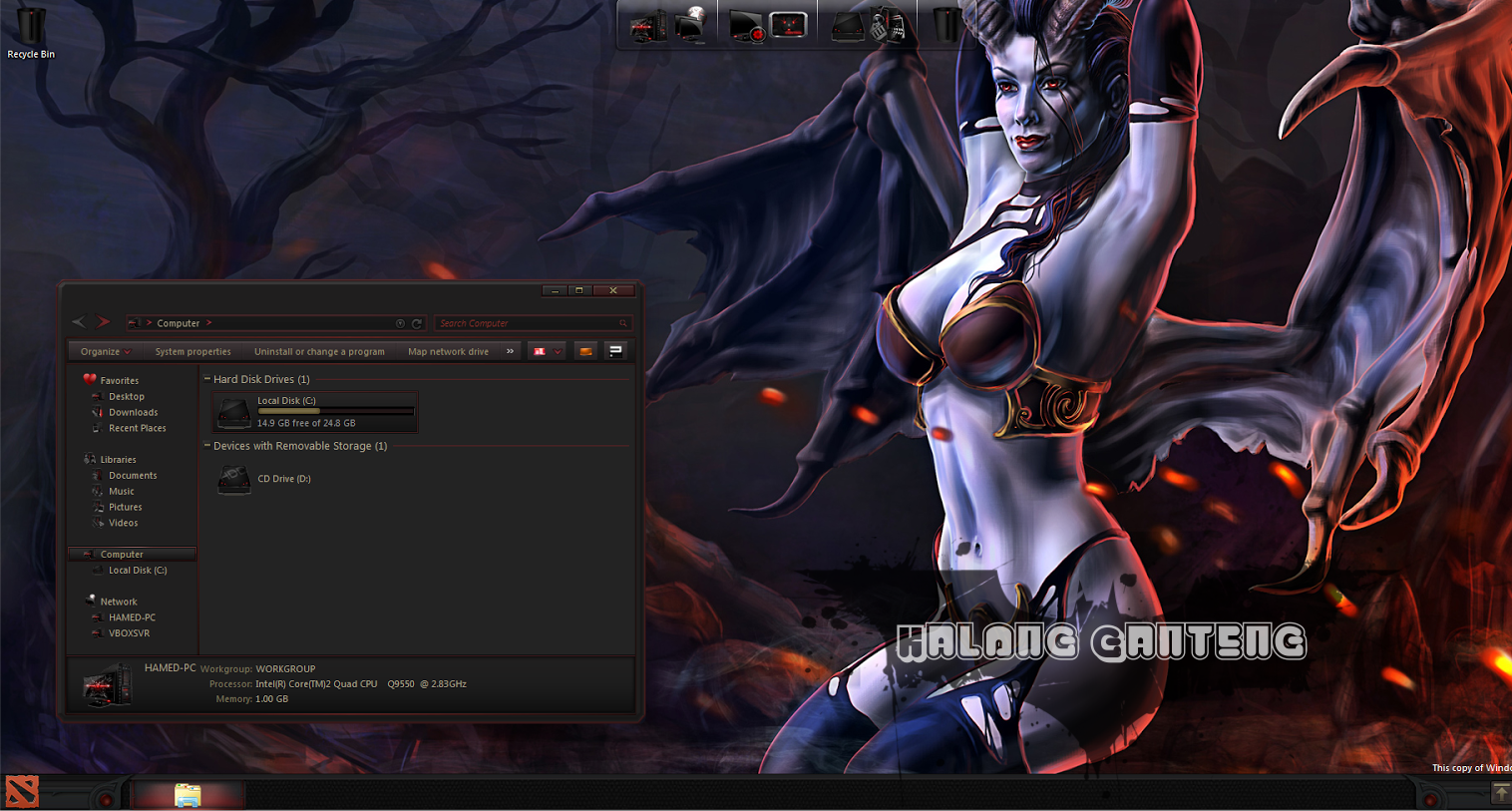 DOTA2 SkinPack Screenshot windows 7