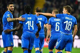 التشكيل المتوقع لمنتخب ايطاليا ضد منتخب البوسنة و الهرسك