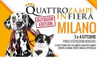 Quattro Zampe in Fiera 2020 : scarica il buono sconto per Milano 3 e 4 ottobre 2020