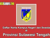 15+ Kampus Terbaik di Sulawesi Tengah yang Negeri dan Swasta
