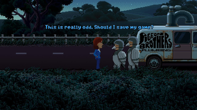 Screenshot of Thimbleweed Park